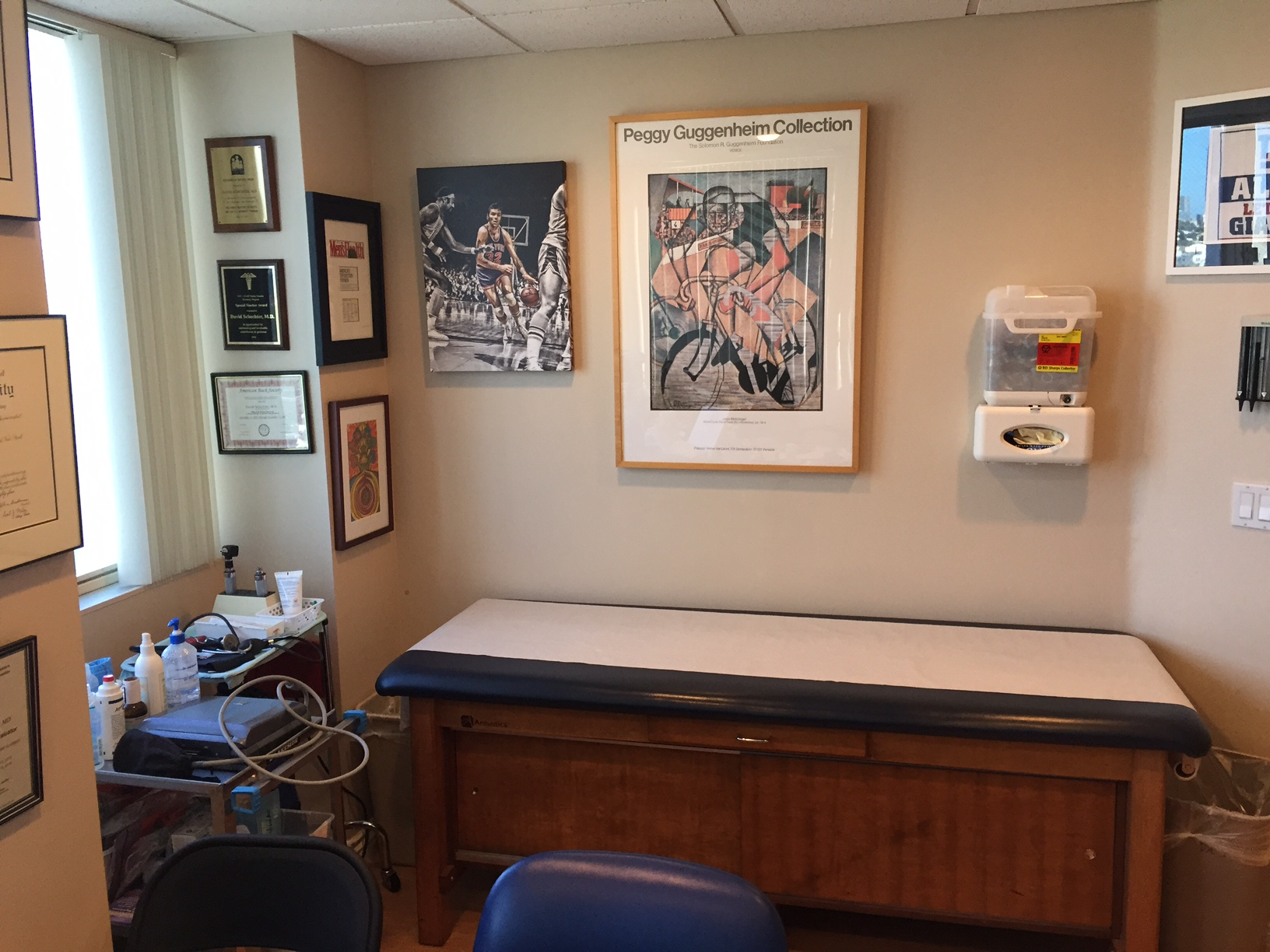 Culver City Medical Office for Dr Schechter Exam Room 2